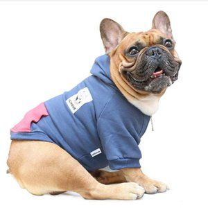 Dog Hoodie Hooded Full-Zip Sweatshirt